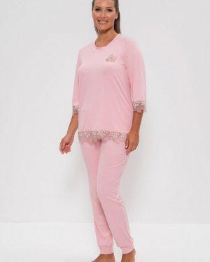 Домашний костюм розовый Cleo