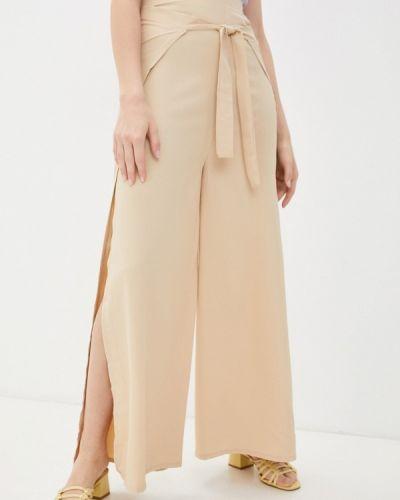 Бежевые повседневные брюки Moki