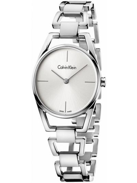 Zegarek srebrny Calvin Klein