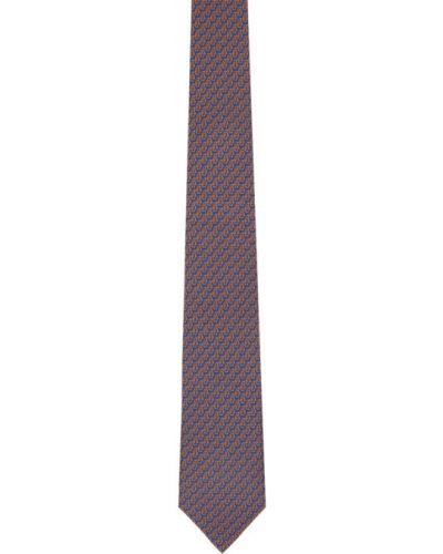 Черная шелковая резинка для волос с подкладкой Salvatore Ferragamo