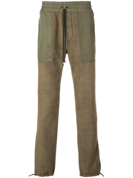 Spodnie o prostym kroju na gumce z kieszeniami Amiri