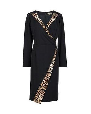 Деловое платье черное Elisa Fanti