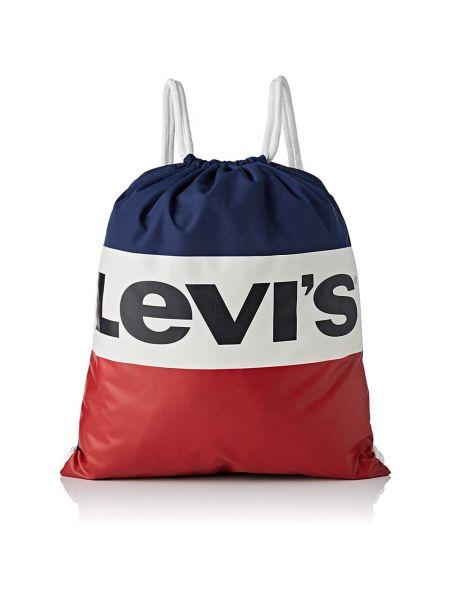 Niebieski plecak Levi's