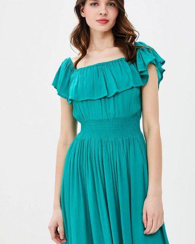Бирюзовое платье весеннее Brave Soul