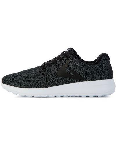 Черные кроссовки на шнуровке Demix