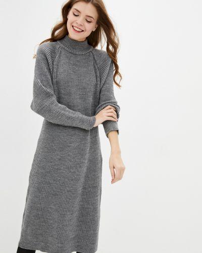 Вязаное платье - серое Sewel