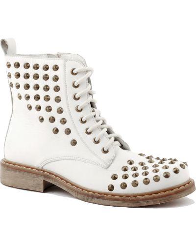 Кожаные ботинки осенние Bronx