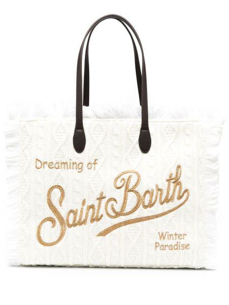 Сумка тоут - белая Mc2 Saint Barth