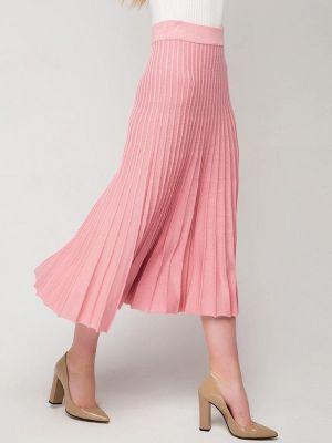 Плиссированная юбка розовая Fors