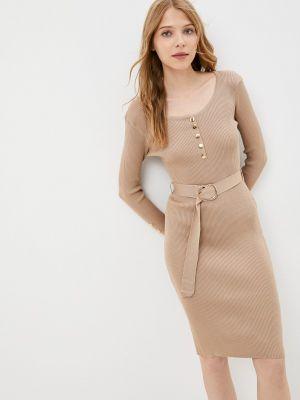 Вязаное платье - бежевое Fadas