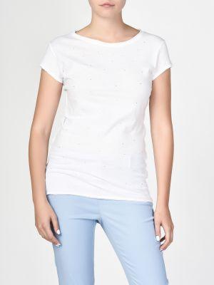 Хлопковая футболка - белая Ca' Vagan