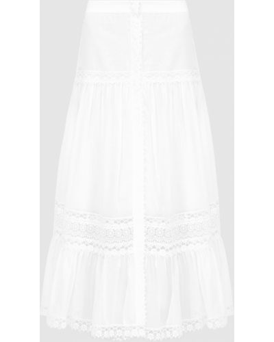 Белая юбка макси Charo Ruiz