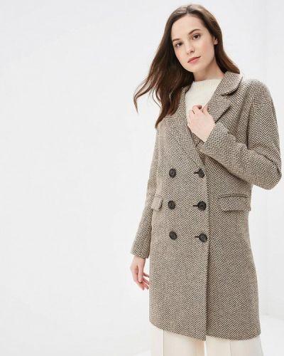 Пальто бежевое пальто Gamelia