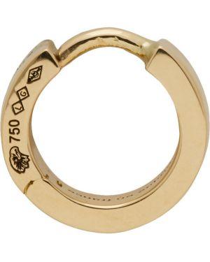 Kolczyki złoto z logo Le Gramme