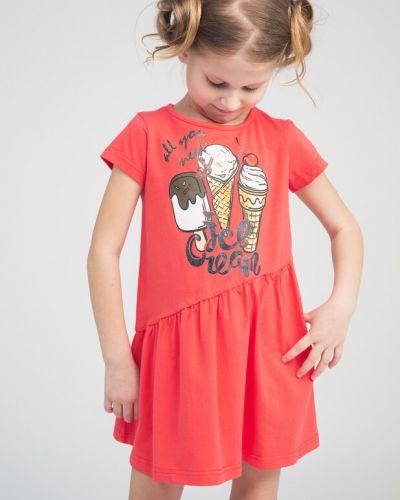 Летнее платье хлопковое с принтом Playtoday Kids