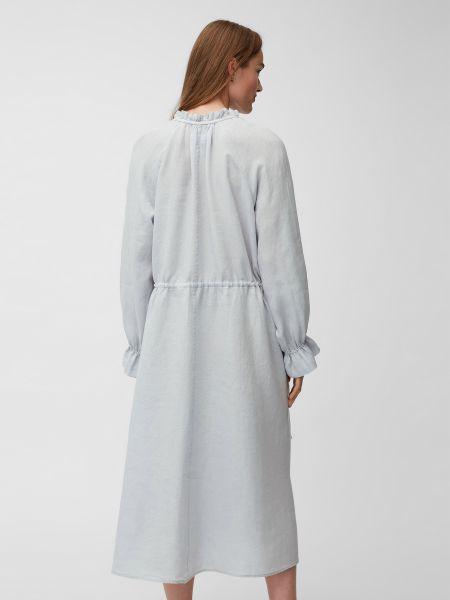 Платье миди с вырезом с воротником с завязками Marc O'polo
