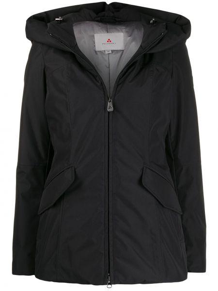 Черная куртка с капюшоном Peuterey