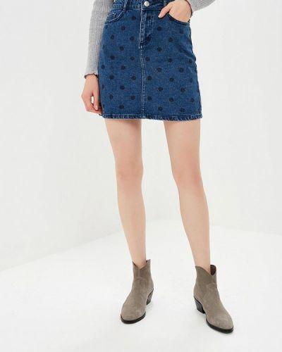 Джинсовая юбка осенняя Dorothy Perkins