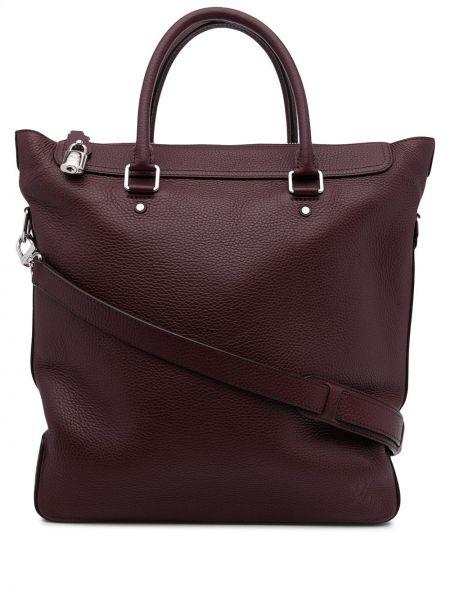 Красная сумка на змейке Louis Vuitton