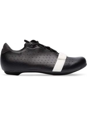 Czarne sneakersy skorzane sznurowane Rapha