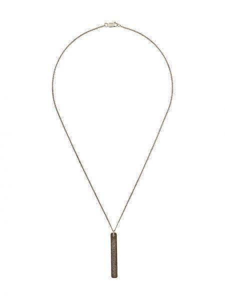 Ожерелье из серебра серебряный Maison Margiela