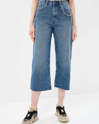 Широкие джинсы расклешенные синие Cheap Monday