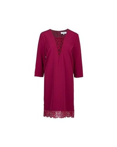 Красное платье зимнее Anna Rachele