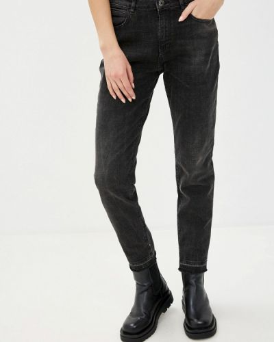 Черные джинсы-скинни узкого кроя Scotch&soda