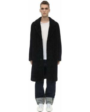 Czarny płaszcz Stand