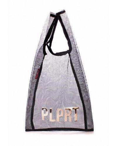 Черная пляжная сумка Poolparty
