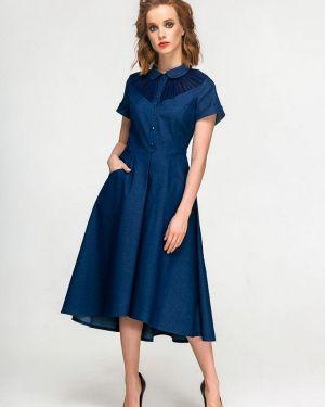 Джинсовое платье - синее Yulia'sway