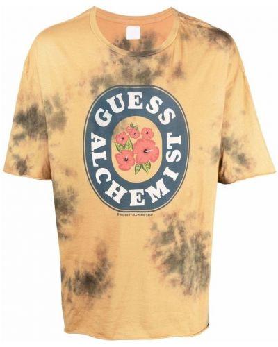 Pomarańczowy t-shirt Alchemist