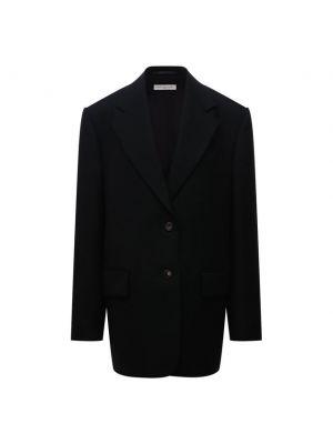 Шерстяной пиджак - черный Dries Van Noten