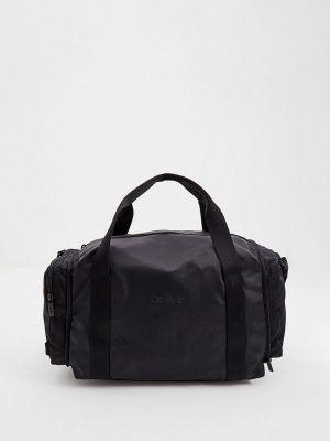 Черная зимняя сумка Calvin Klein
