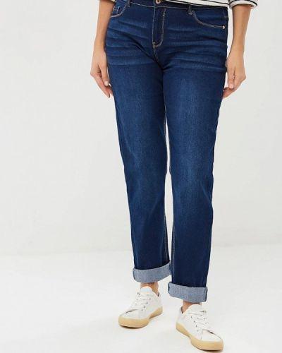 Синие джинсы-скинни Modis