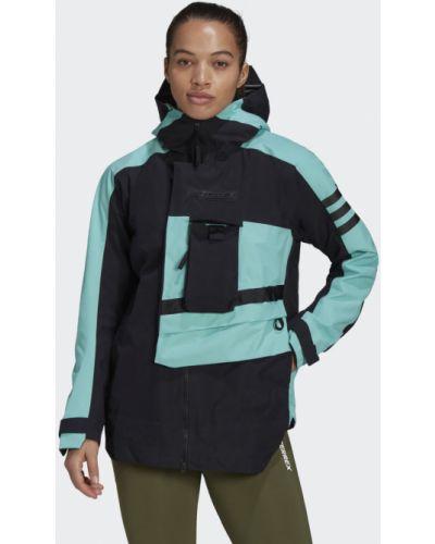 Облегченный черный дождевик Adidas