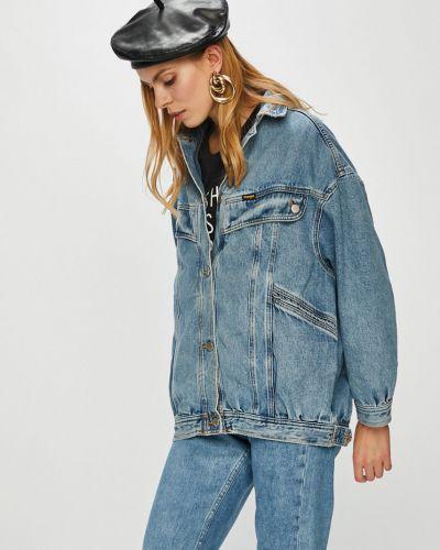 Джинсовая куртка на пуговицах облегченная Wrangler