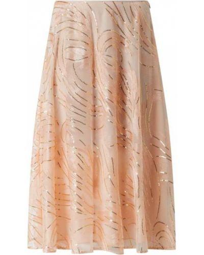 Spódnica midi rozkloszowana tiulowa z cekinami Pennyblack