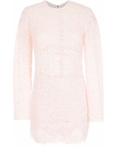 Розовое платье макси длинное НК