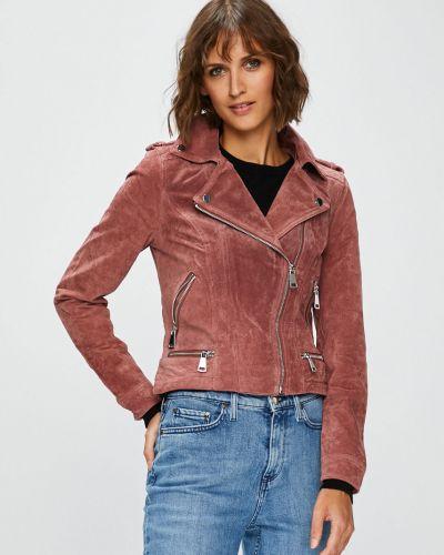 Утепленная куртка укороченная кожаная Vero Moda