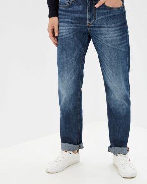 Прямые джинсы синий Ostin