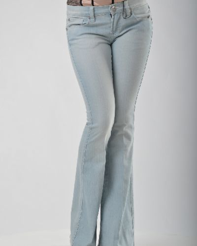 Широкие джинсы синие Snake Milano