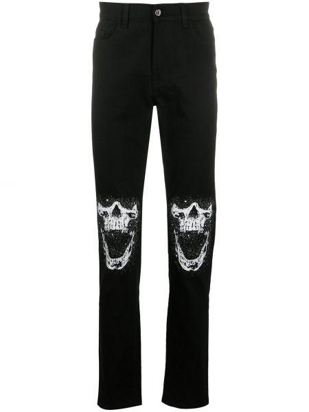 Klasyczne czarne jeansy bawełniane Mjb Marc Jacques Burton