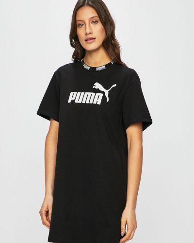 Свободное платье мини свободного кроя Puma