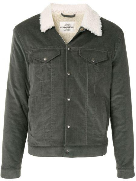 Zielona kurtka bawełniana Kent & Curwen