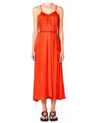 Czerwona sukienka Sundek