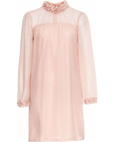 Платье шифоновое с цветочным принтом Bonprix