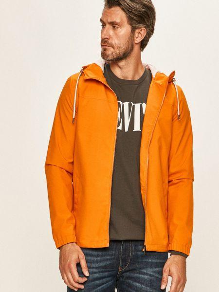 Оранжевая с рукавами куртка с капюшоном Only & Sons