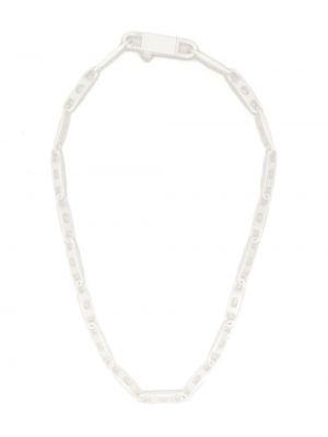 Серебряное ожерелье Rick Owens