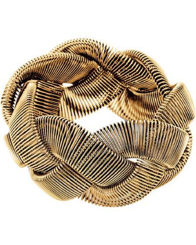 Золотой браслет эластичный Honey